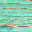 Abstract green wooden wall,background texture. - Stock Photo