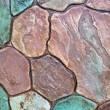 Abstract color stone background texture, stones diveristy. — Stock Photo #5246744