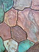 Abstract color stone background texture, stones diveristy. — Stock Photo