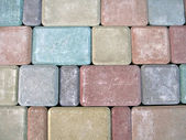 Abstract color stone diversity background. — Foto de Stock