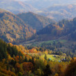 Autumn landscape in mountains — Foto Stock