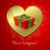 Valentine's background — Stockvektor
