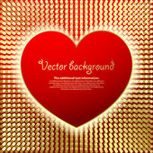 Valentine's background — Vector de stock