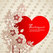 Valentine's background — Stock Vector