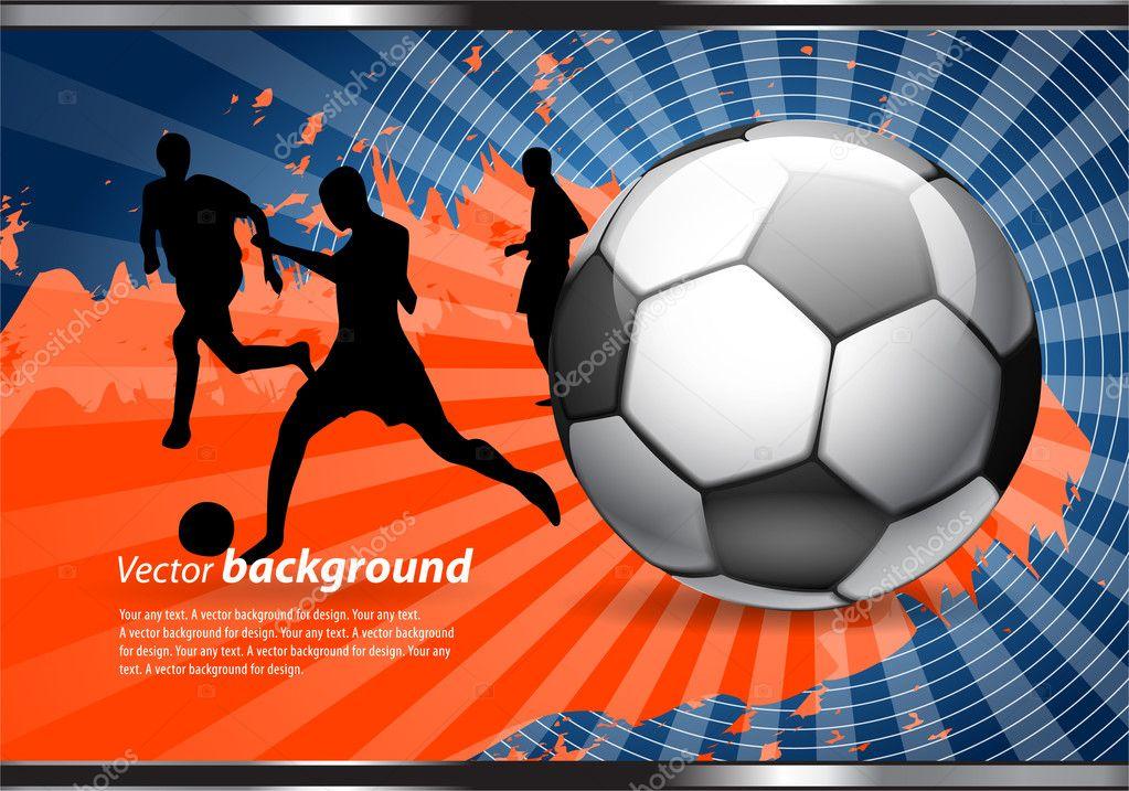 Плакат для футбола картинки