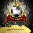 Royalty-Free Stock Vector Image: Football poster