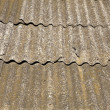 Closeup of a slated roof (as a background or texture) — Stock Photo #3974808
