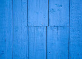 Part of blue wood wall for background. — Stock Photo