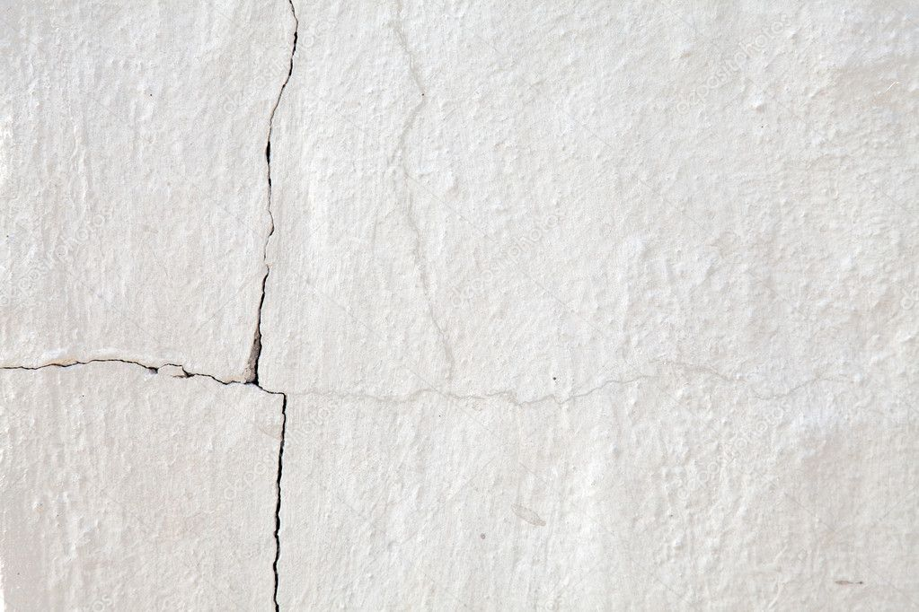 Old cracked white wall for background. — Stock Photo ...