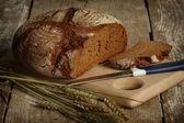 Black rye-bread — Stock Photo