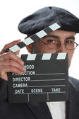Movie clapboard — Stock Photo