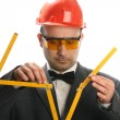 Stupid engineer — Stock Photo #4930285