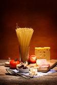 Włoski makaron — Zdjęcie stockowe