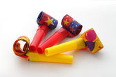 Party blowers. — Stock Photo