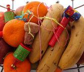 Obst auf einer party — Stockfoto