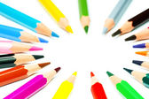 Crayon circle — Stock Photo