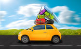 Travel on the road — Stock Photo