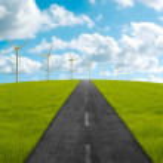 Towards the clean energy — Stock Photo