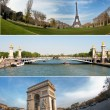 Paris landmark - Stockfoto