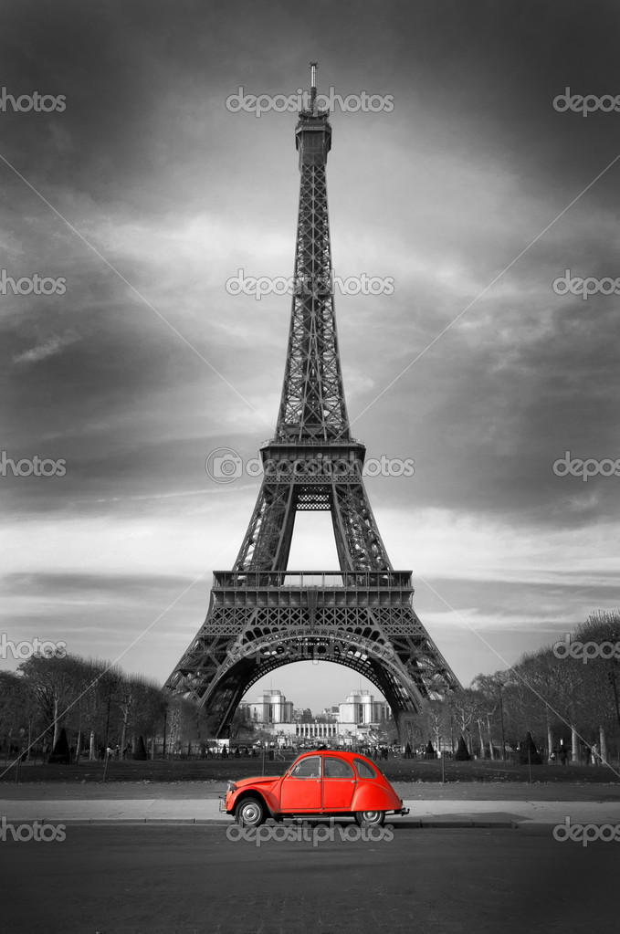 Paris - France — Stock Photo #4405617
