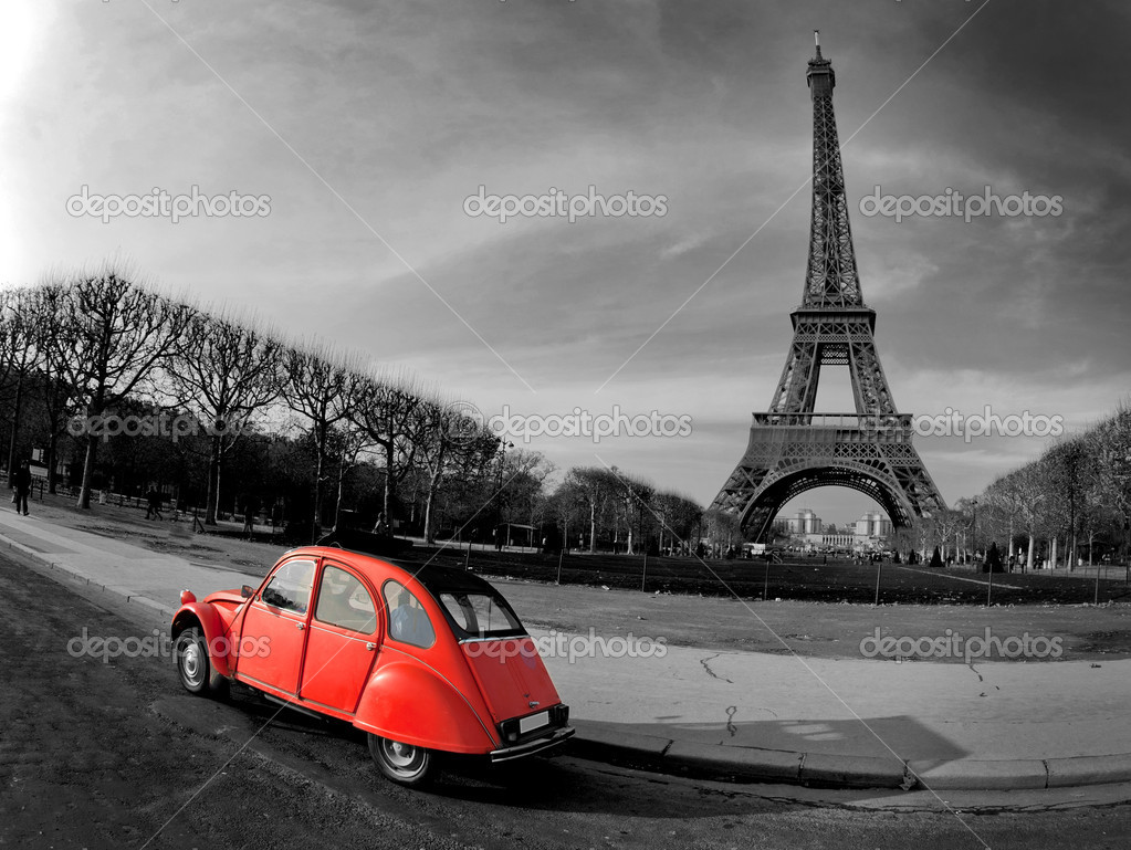 Paris - France — Stock Photo #4405625