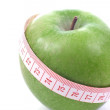Apple and meter - Diet — Stockfoto