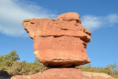 Garden Of The Gods Balance Rock — Stock Photo