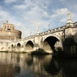 Bridge and castle de Sant Angelo — Stock Photo