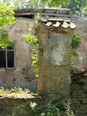 Detalle de la casa abandonada — Foto de Stock