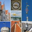 Tallinn collage - Stock Photo