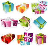 Different gifts illustration — Stock Vector
