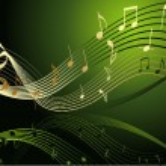 notas de la música — Vector de stock  #4668120