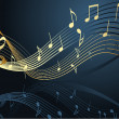 Vector de stock : Music notes