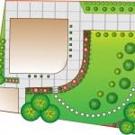 Landscape Plan — Stock Vector #5112802