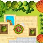 Landscape Plan — Stock Vector #5308344