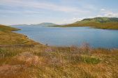 San luis reservoir — Stockfoto