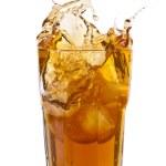 Ice Tea Splash — Stock Photo
