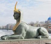 The Egyptian sphinx — Stock Photo