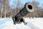 Kronstadt öğle silah — Stok fotoğraf