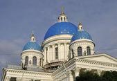 Cupole della cattedrale troitsk. — Foto Stock