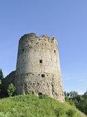 Naugolnaja tower. A fortress of Kopore. — Stock Photo