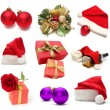 Christmas set — Stock Photo