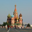 St Basils Cathedral in Red Square. Summer 2010 — Stock Photo #4577919