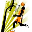 Stock Vector: New sports attack