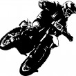 Biker super - Stock Vector