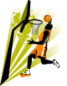 New sports attack — Stock Vector