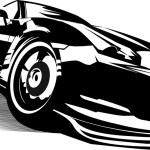 Black sport car — Stock Photo #4948357