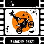 Moto movie — Stock Vector #5294109