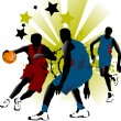 Game basketball — Image vectorielle