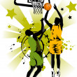 Basketball forever — Stock Vector #5294980